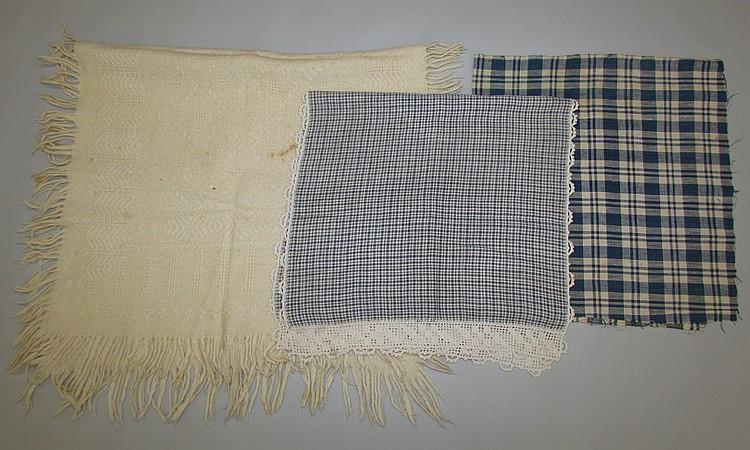 3 textile pieces