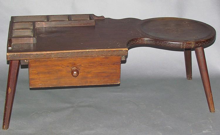 Walter Steely cobbler's bench