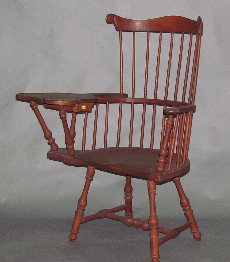 Walter Steely combback writing arm chair