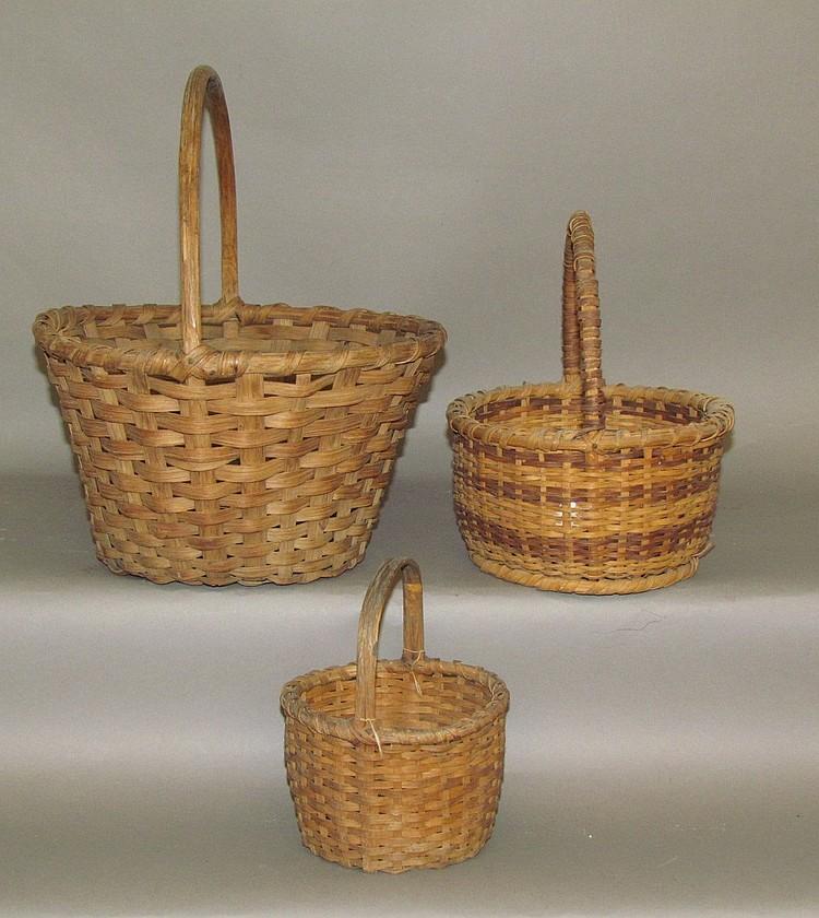 Unmatched set of baskets