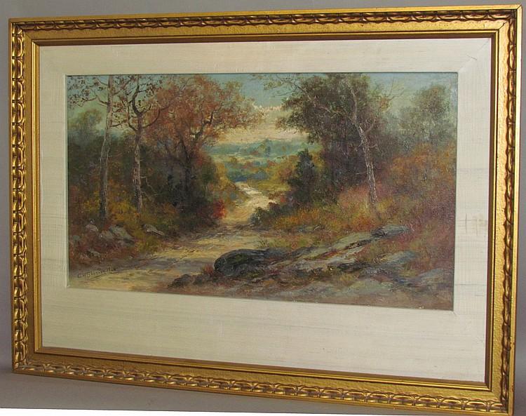 C.H. Shearer oil on canvas