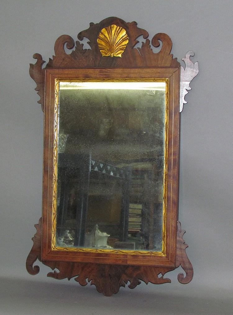 Chippendale period mirror