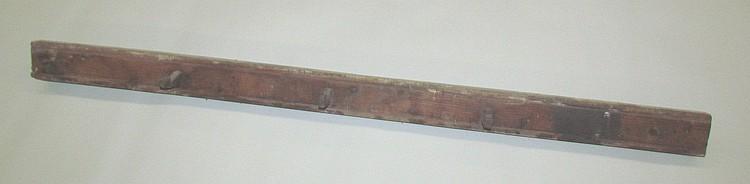 PA softwood peg rail