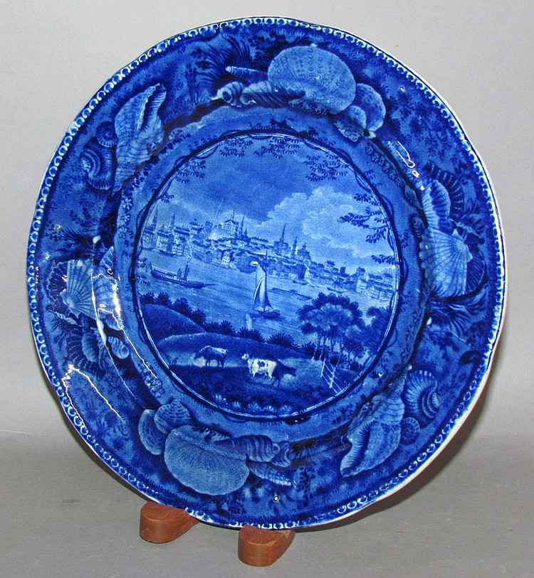 Historic Blue City of Albany plate