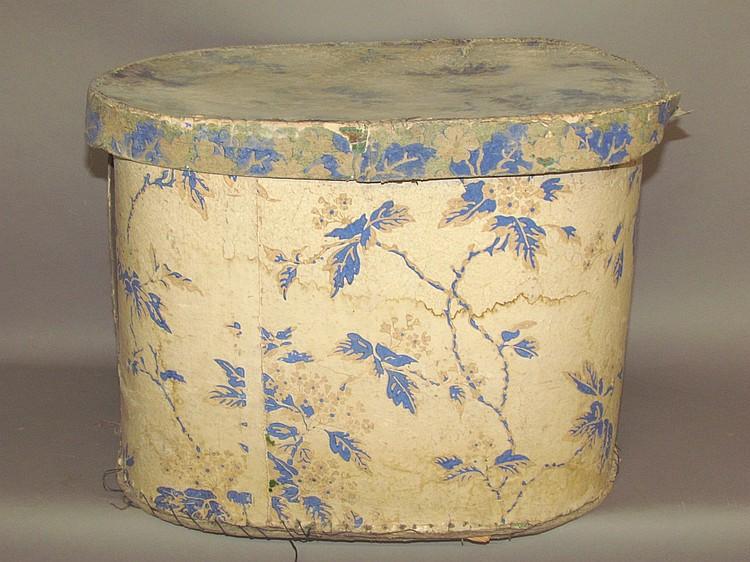 Large wallpaper hat box