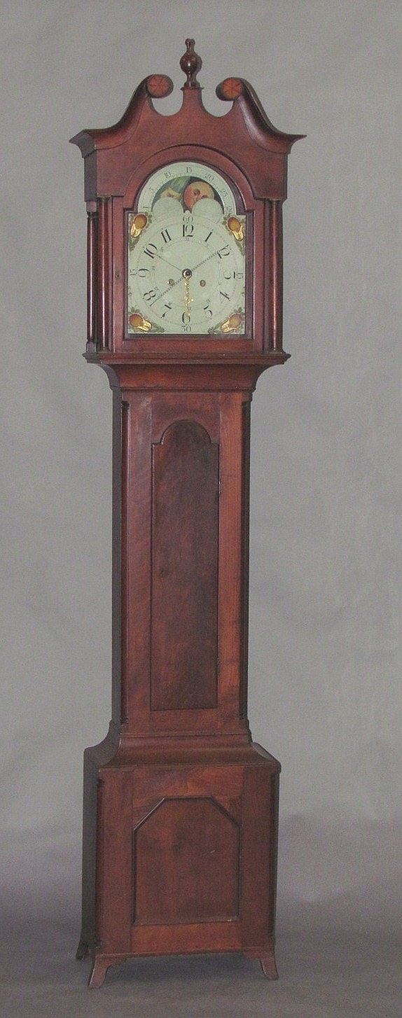 Lancaster County tall case clock