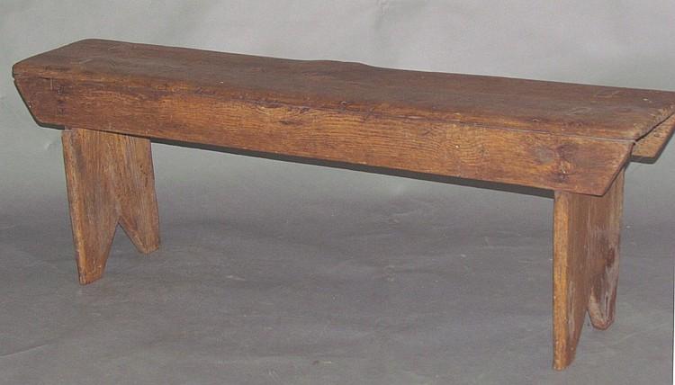 Pine bench