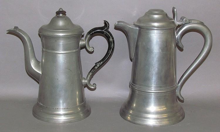 Britannia Flagon by Leonard, Reed & Barton & teapot by Freeman Porter