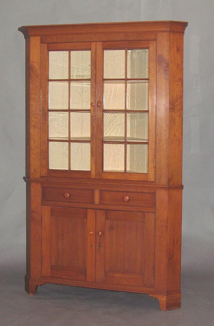 2 part corner cupboard