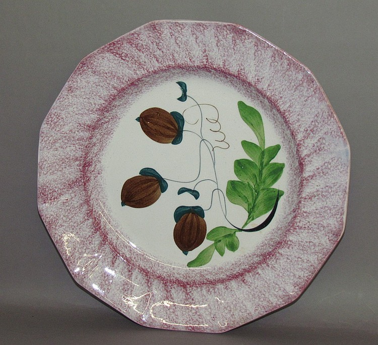 3 acorn spatter plate