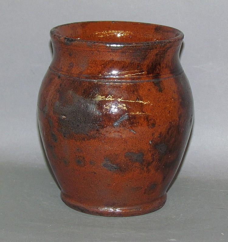 PA redware jar