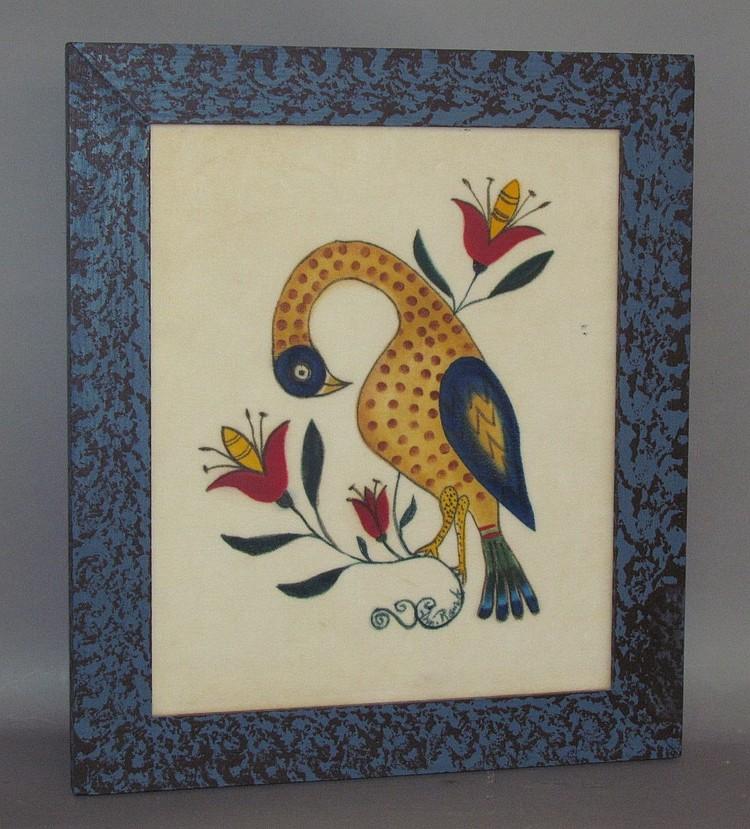 Bill Ranck pelican theorem painting