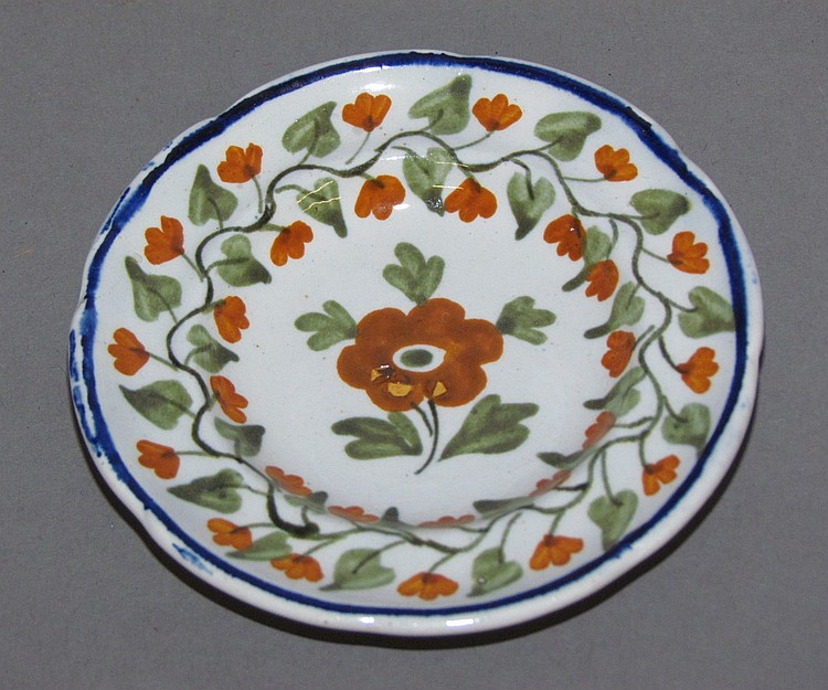 English pearlware child's toy dish