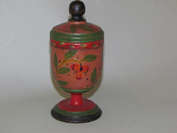 Lehnware covered saffron