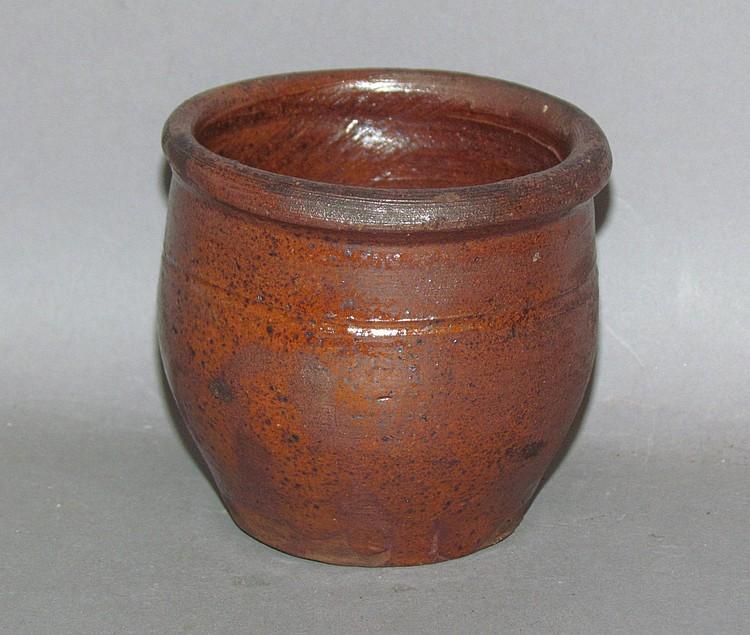 Small PA redware crock