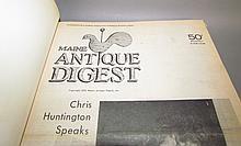 Lot 165: 5 bound volumes of Maine Antique Digest
