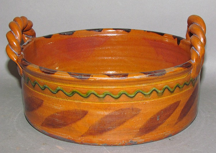 Shooner earthenware shallow tub