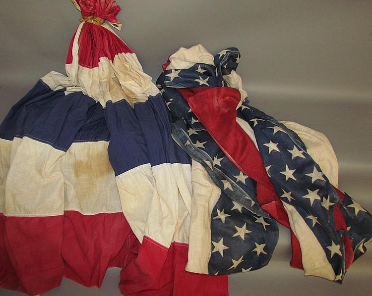 Lot 118: Patriotic bunting