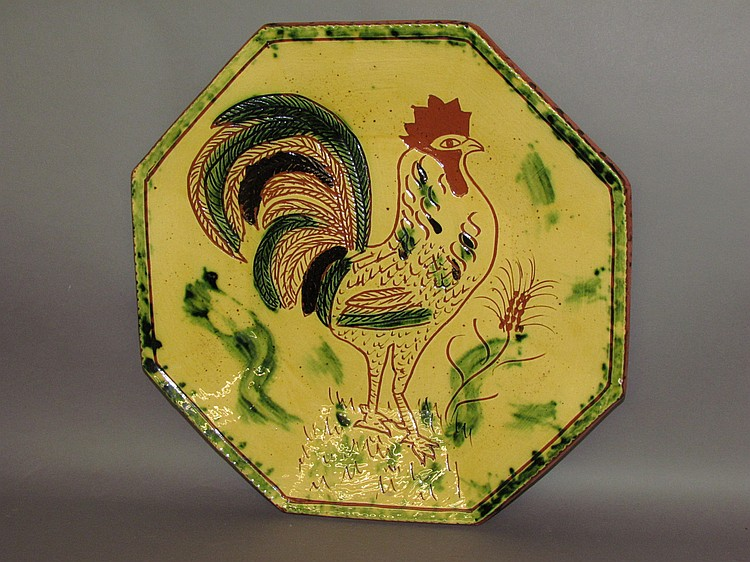 Lot 65: B&L; Breininger rooster charger