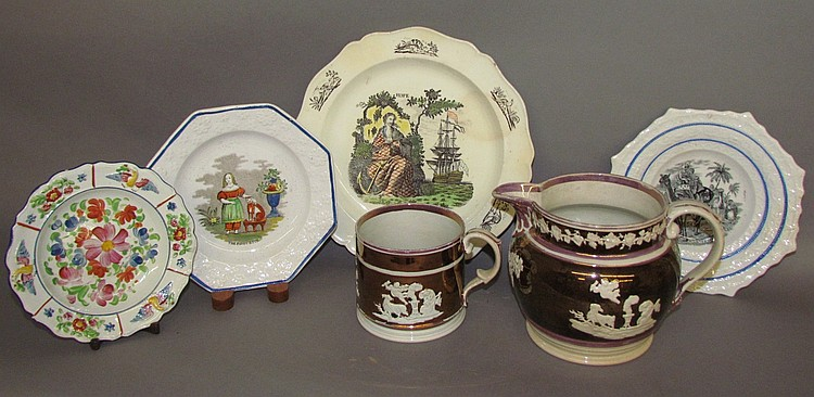 Miscellaneous English earthenware
