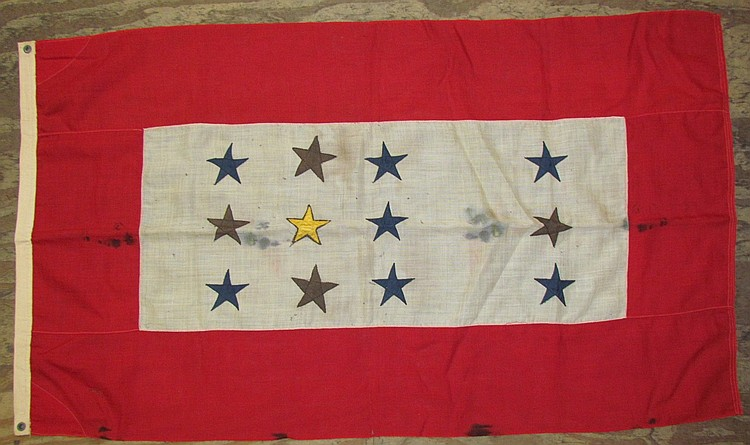 12 star employee service flag