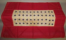 Lot 116: 44 star employee service flag