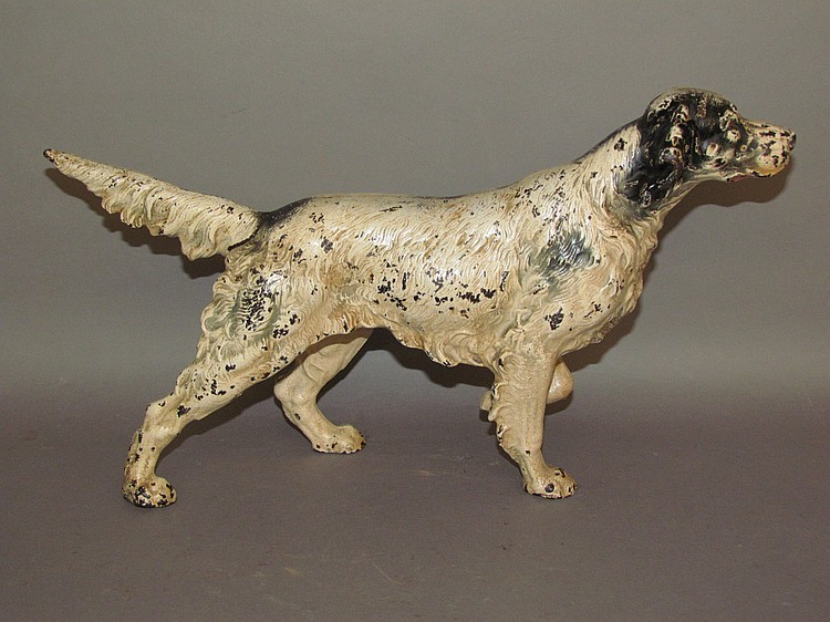 Hubley cast iron Setter dog doorstop