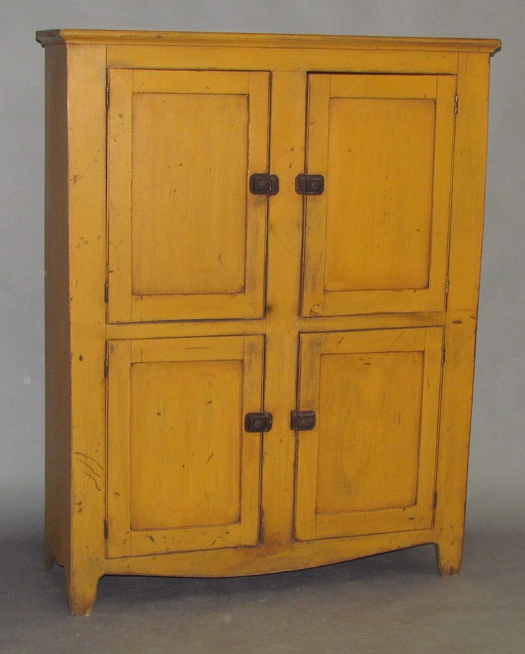 Four door cupboard
