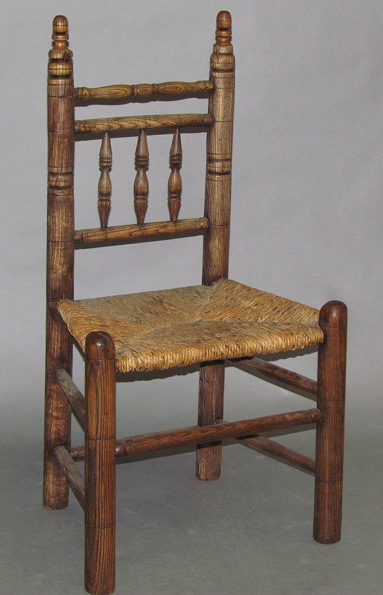 Barrister back chair