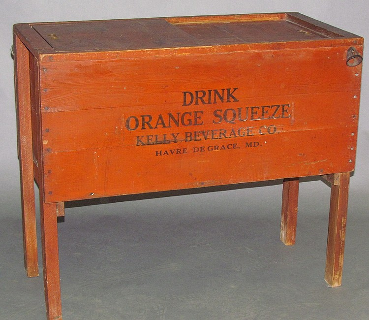 Orange Squeeze beverage cooler