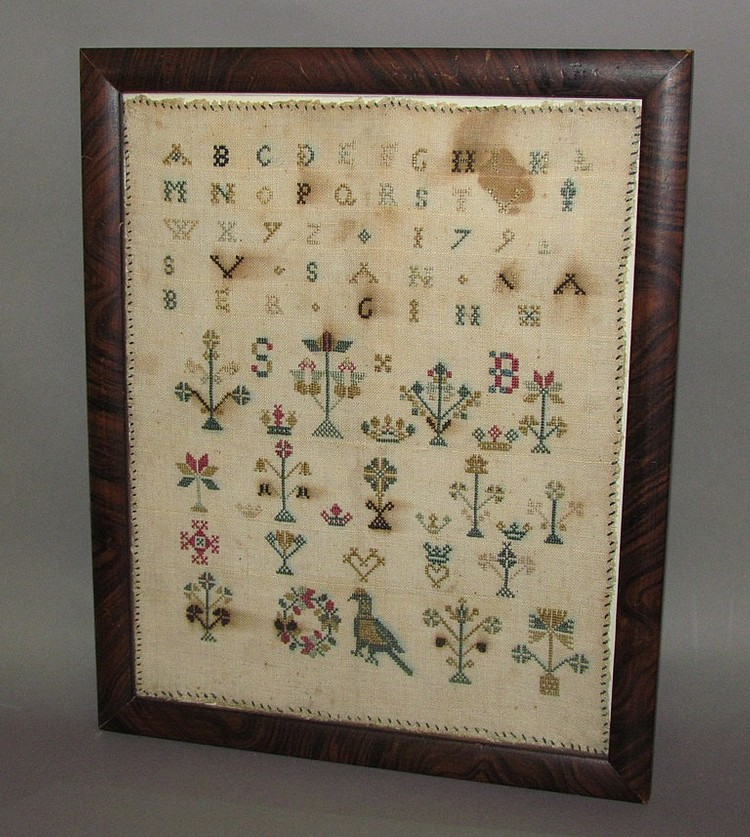 Mennonite Sampler dated 1792 by Susanna Bergin