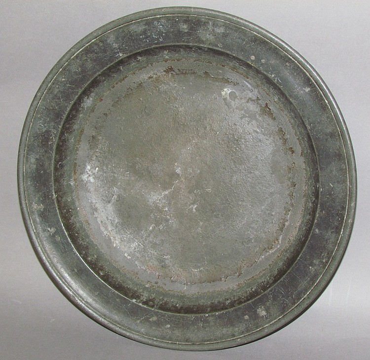 Pewter basin