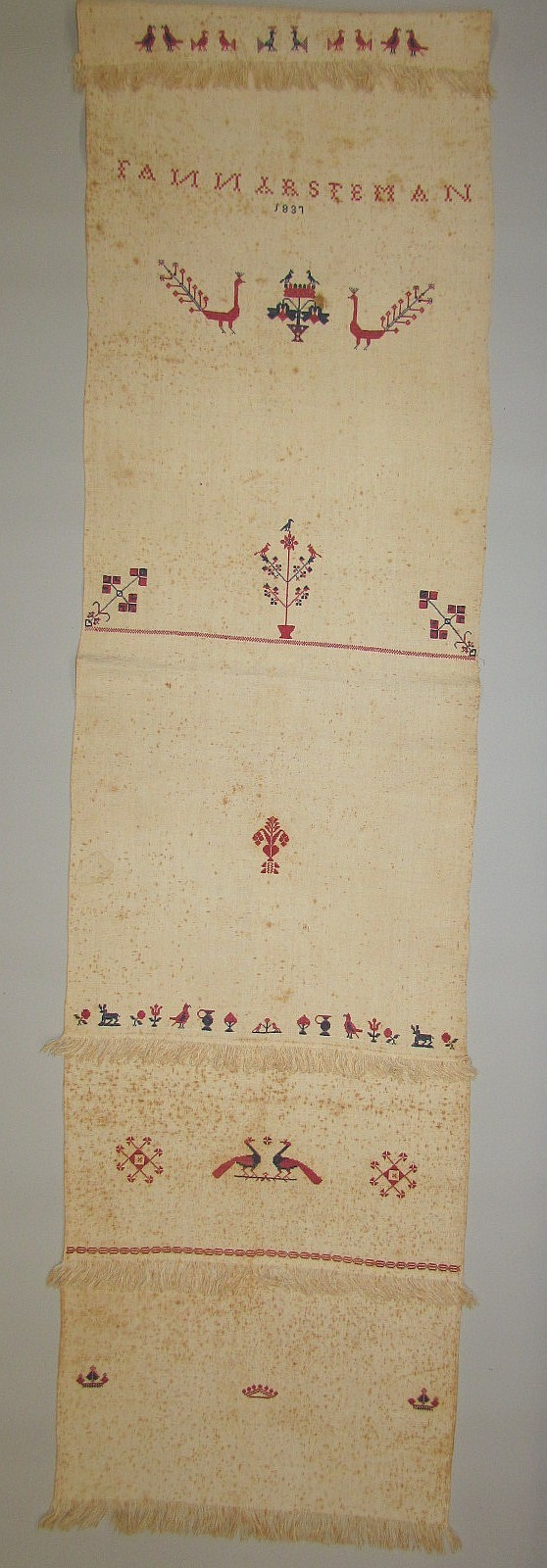 Show Towel, Lancaster Co. Mennonite origin