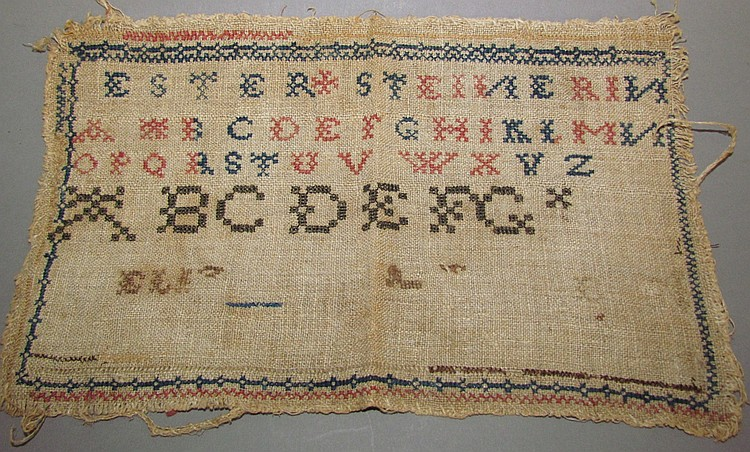 Cross-stitch Sampler
