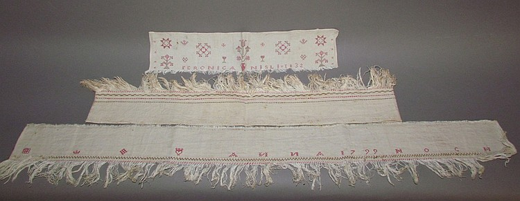 Fragments of PA German needlework