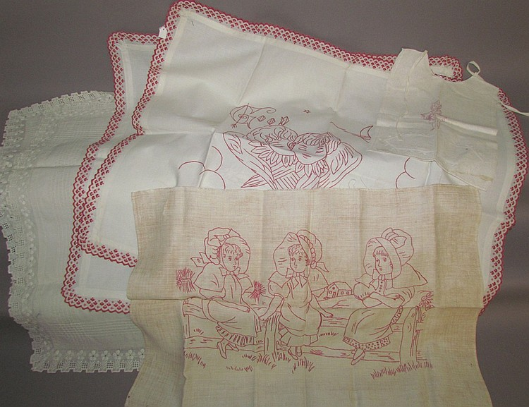 Group of textiles from Anna Mary Herr Sale