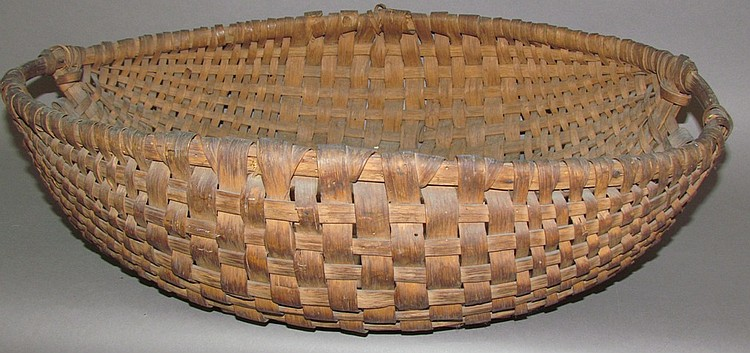Oak gathering basket