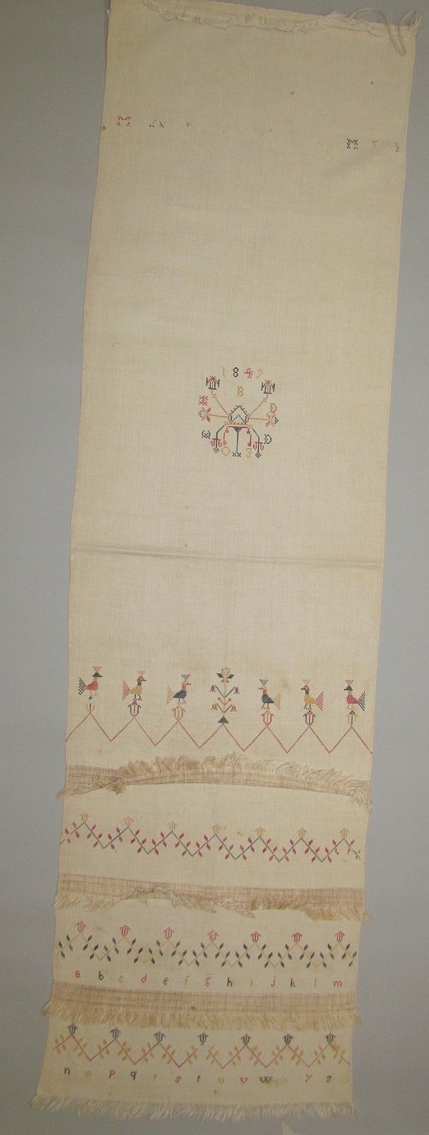 Show Towel, Lancaster County Mennonite origin