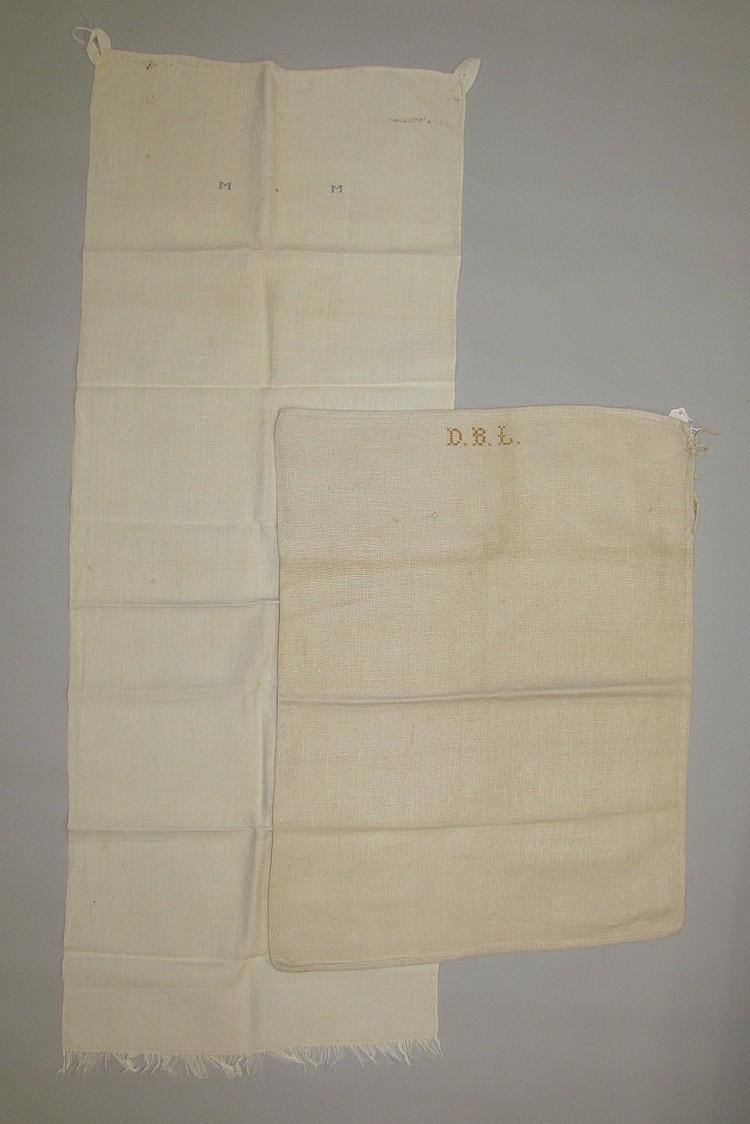 Homespun bag & towel