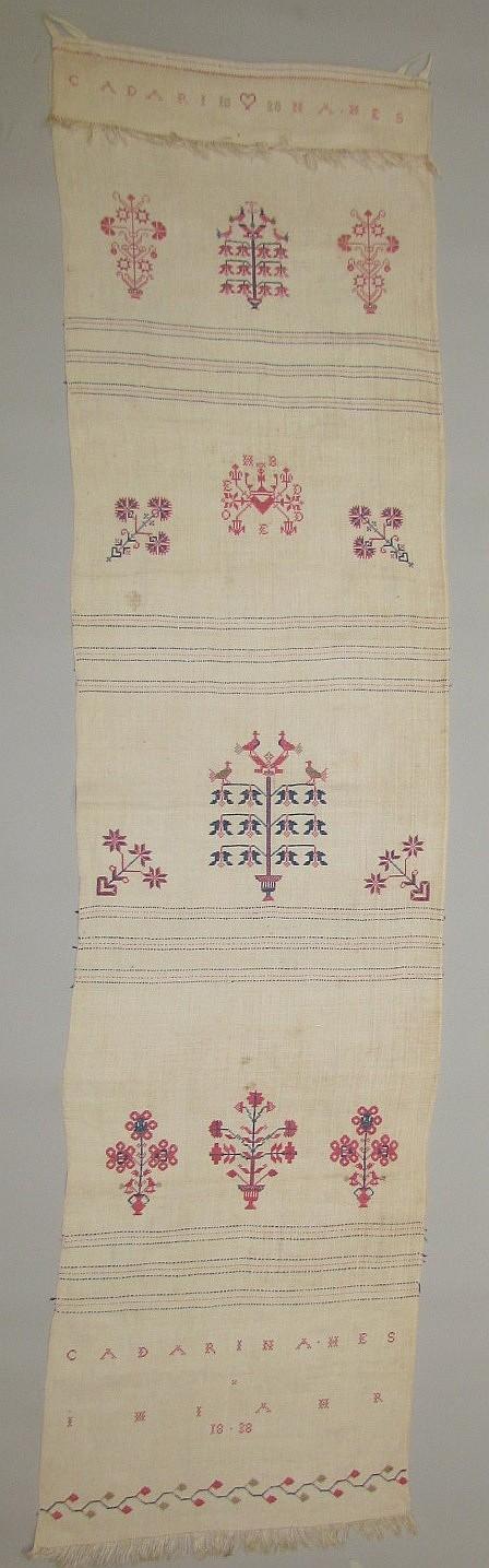 Decorated towel, Mennonite