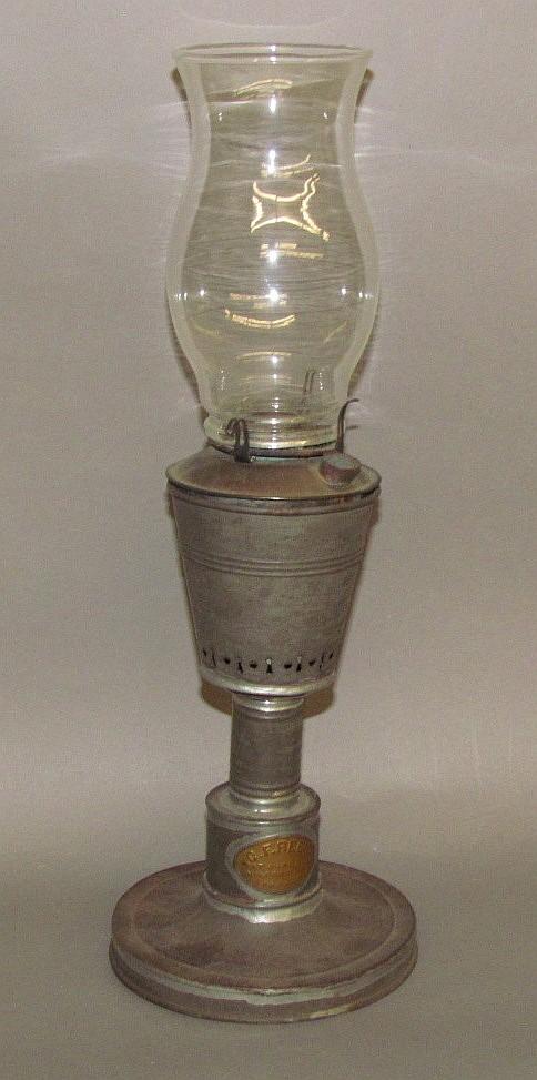 Tin fluid lamp