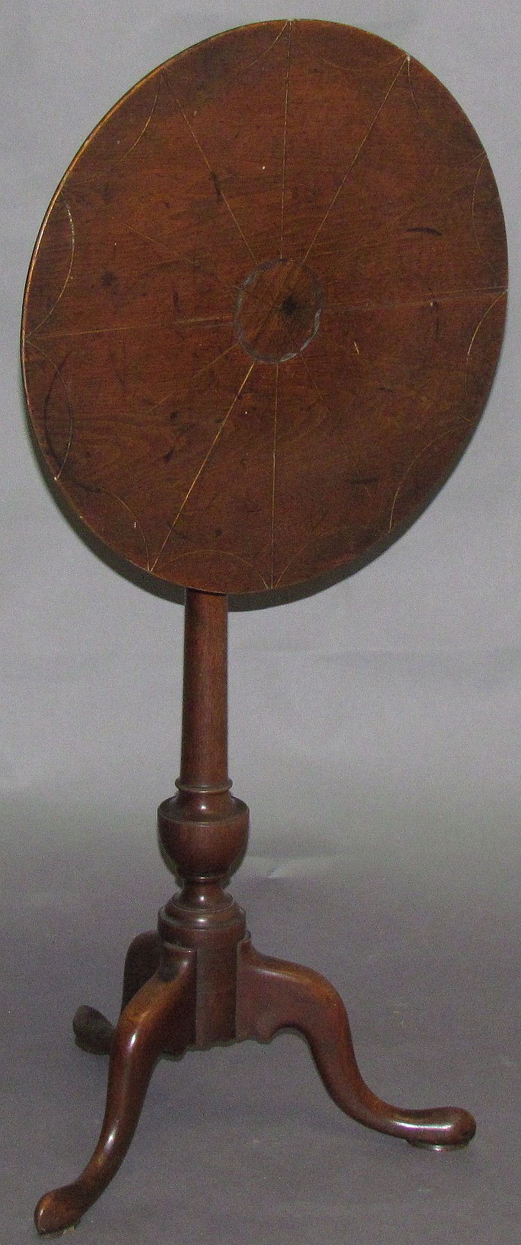 Rare Lancaster Co. candle stand