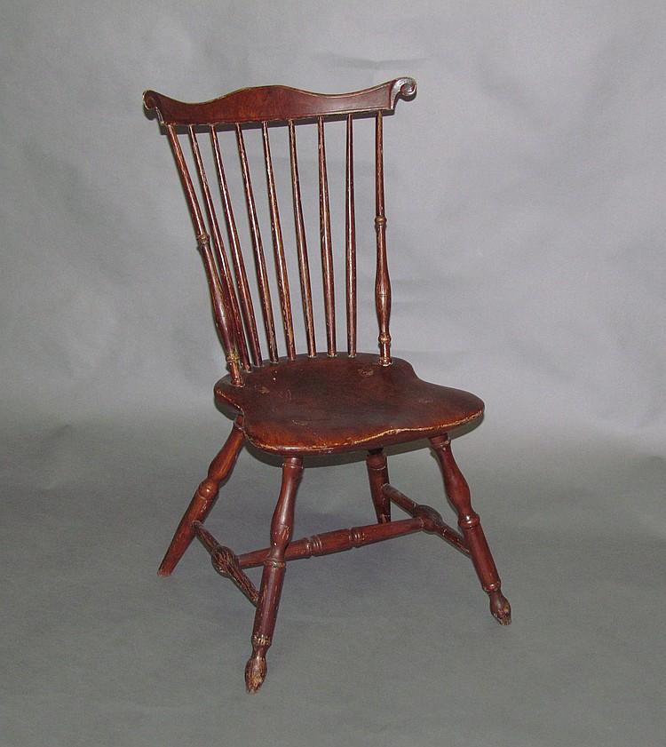 Lancaster County Fan-Back Windsor Chair