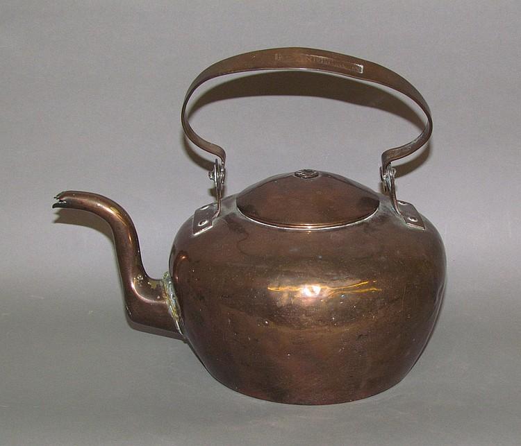 Dovetailed Copper Teakettle