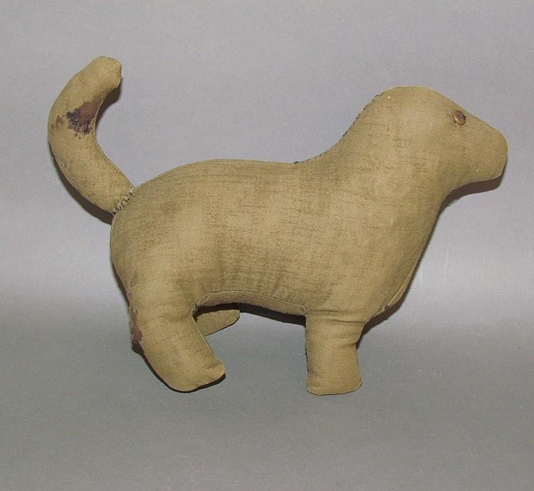 Old Order Mennonite fabric dog