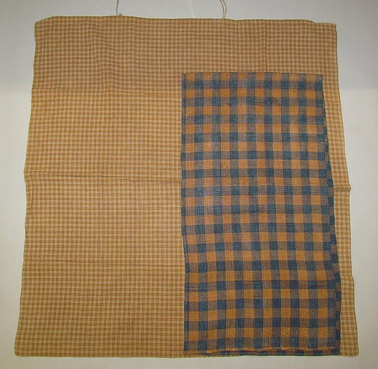 2 Pieces of linen
