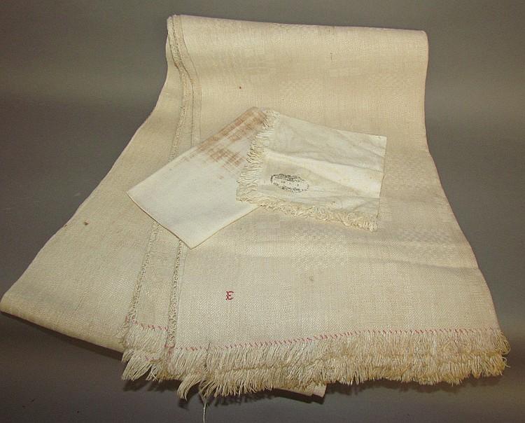 3 linen pieces