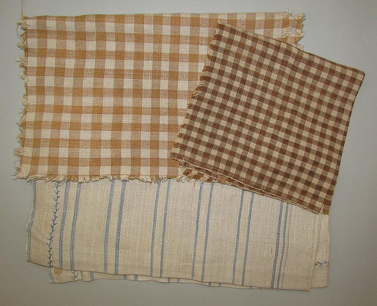 3 pieces of linen