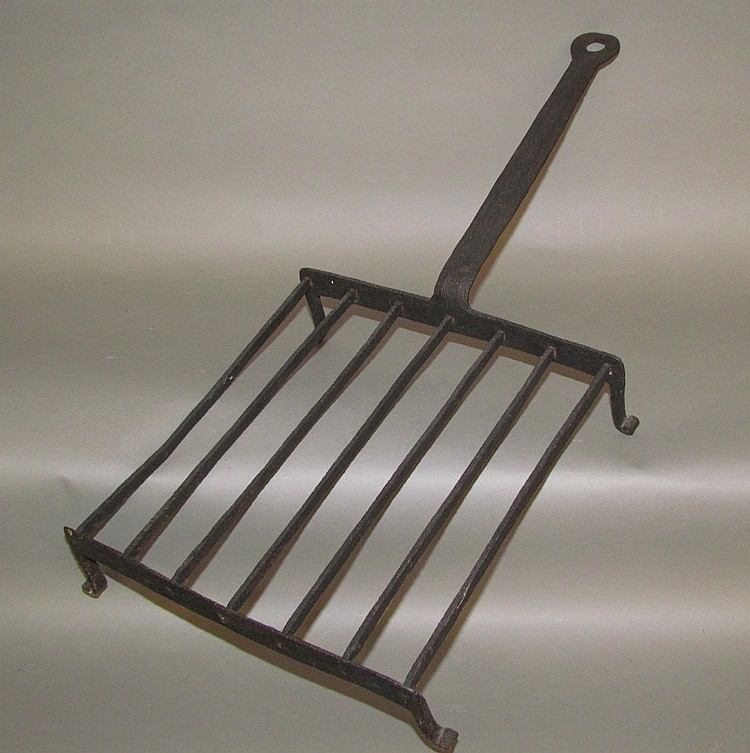 Wrought iron griddle or grill/broiler