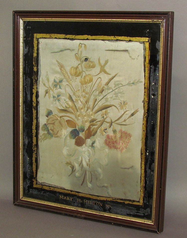 Linden Hall needlework piece